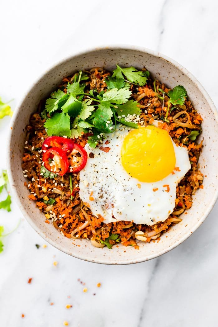 Nasi Goreng Breakfast (Paleo Friendly) | Cotter Crunch