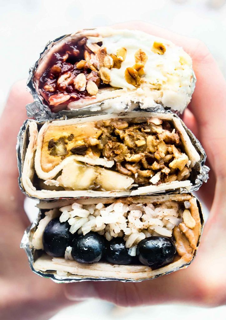 Grab and Go Gluten Free Breakfast Wraps - made 3 ways