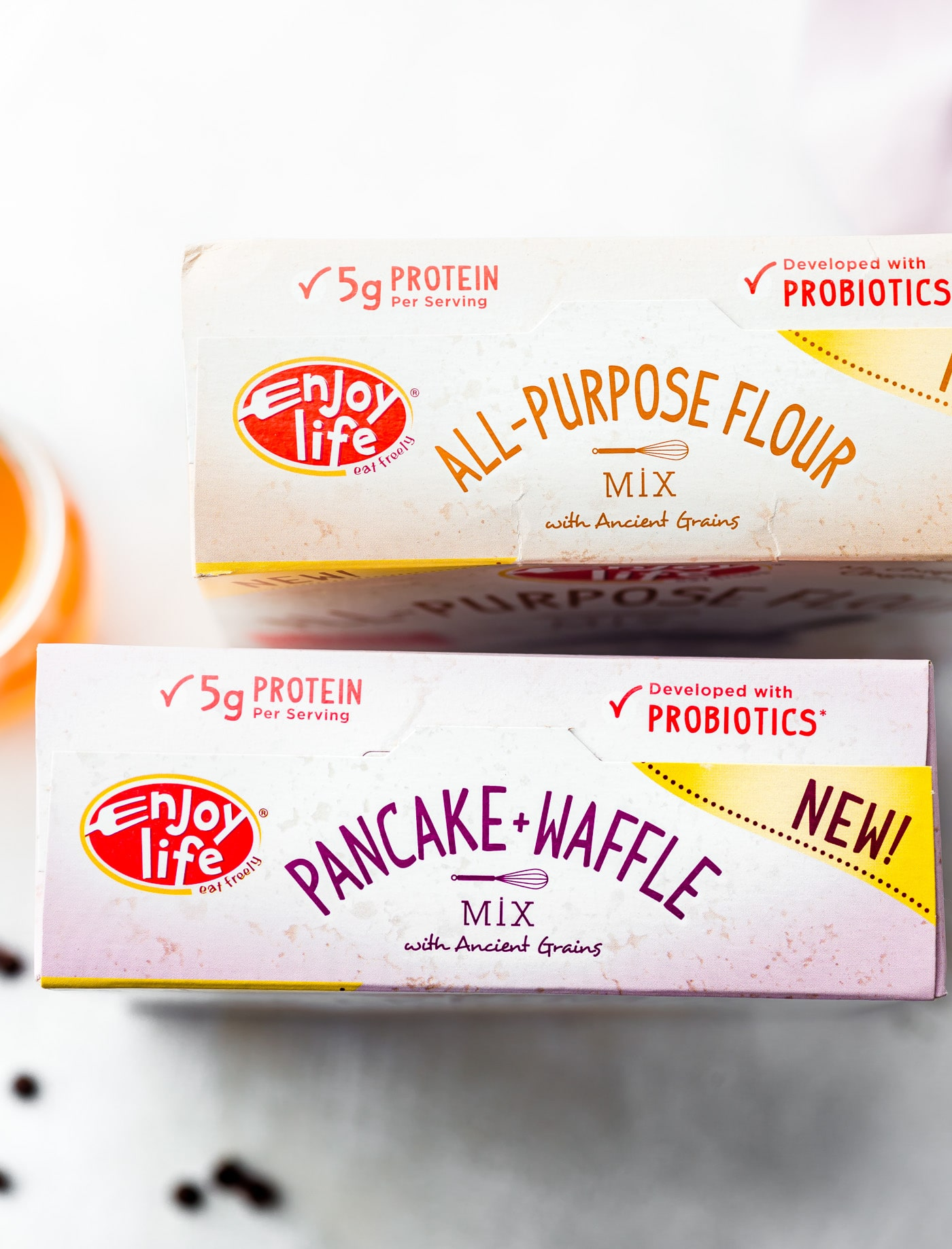 Enjoy Life Foods brand all-purpose flour and pancake/waffle mix