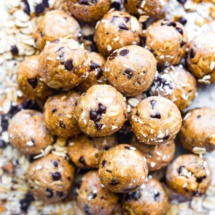 Cinnamon Vanilla Protein Breakfast Bites + Video | Cotter Crunch