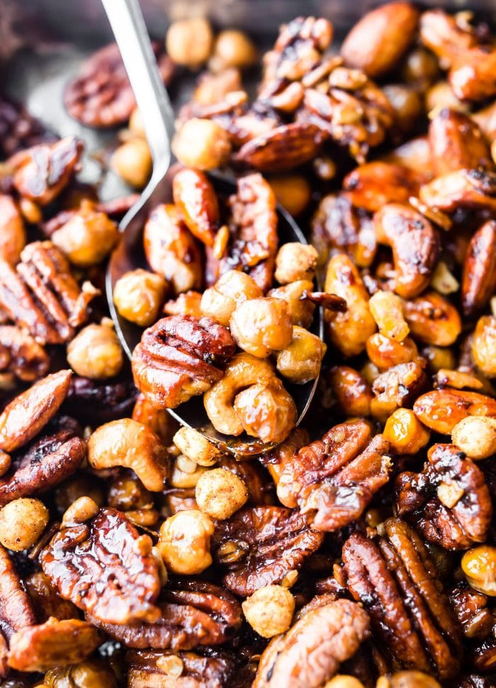 Instant Pot Candied Cajun Trail Mix