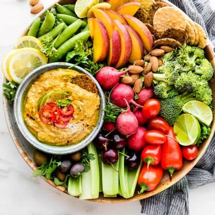 Spicy Mango Avocado Yogurt Dip
