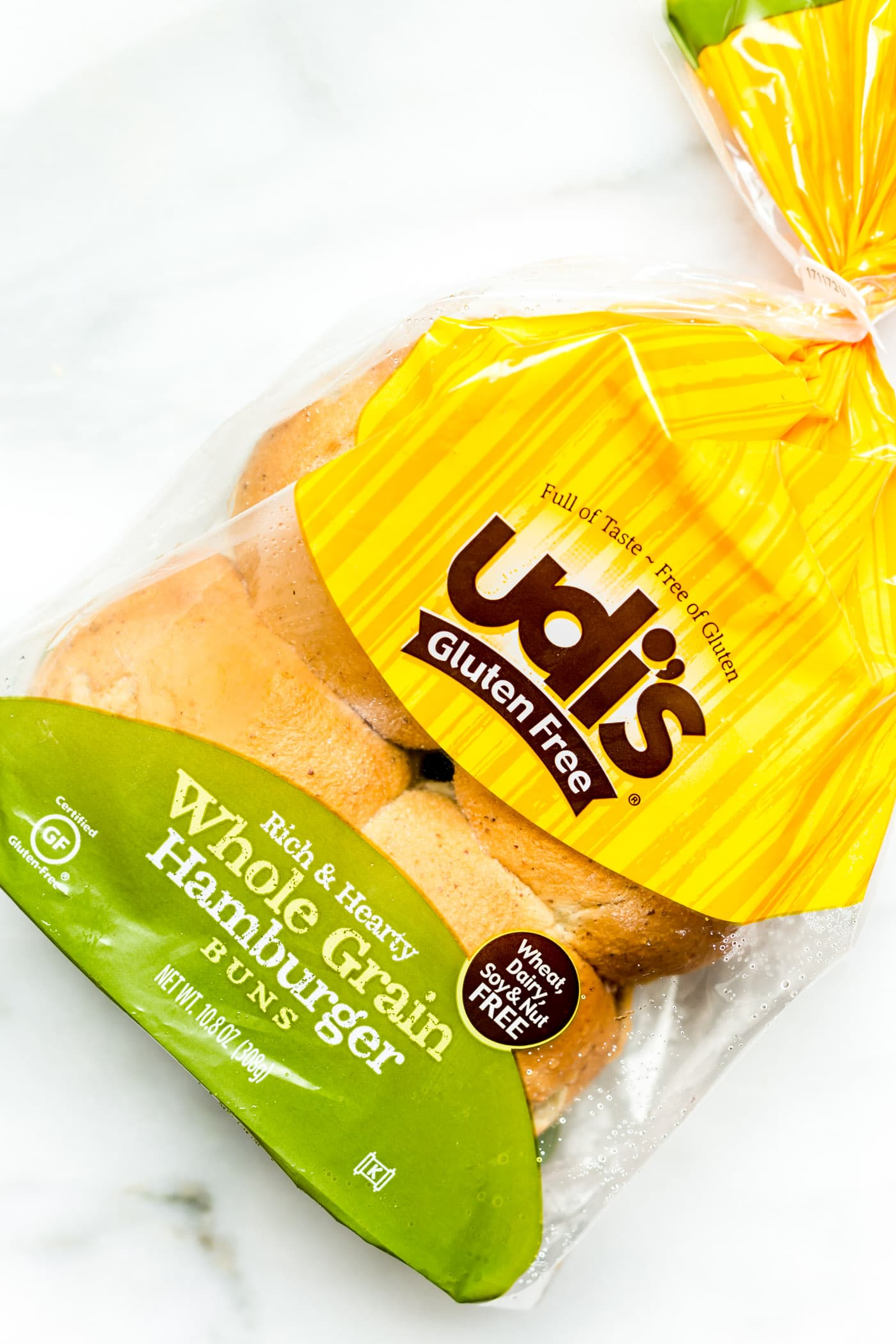 udis gluten free hamburger buns! Great for veggie burgers and more!
