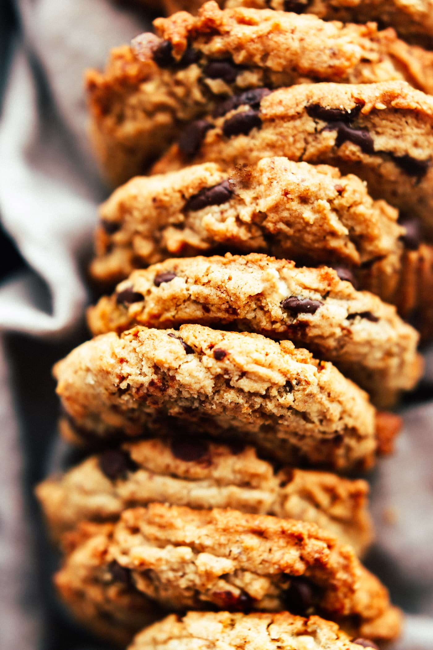 The Best Vegan Chocolate Chip Cookies {Paleo}