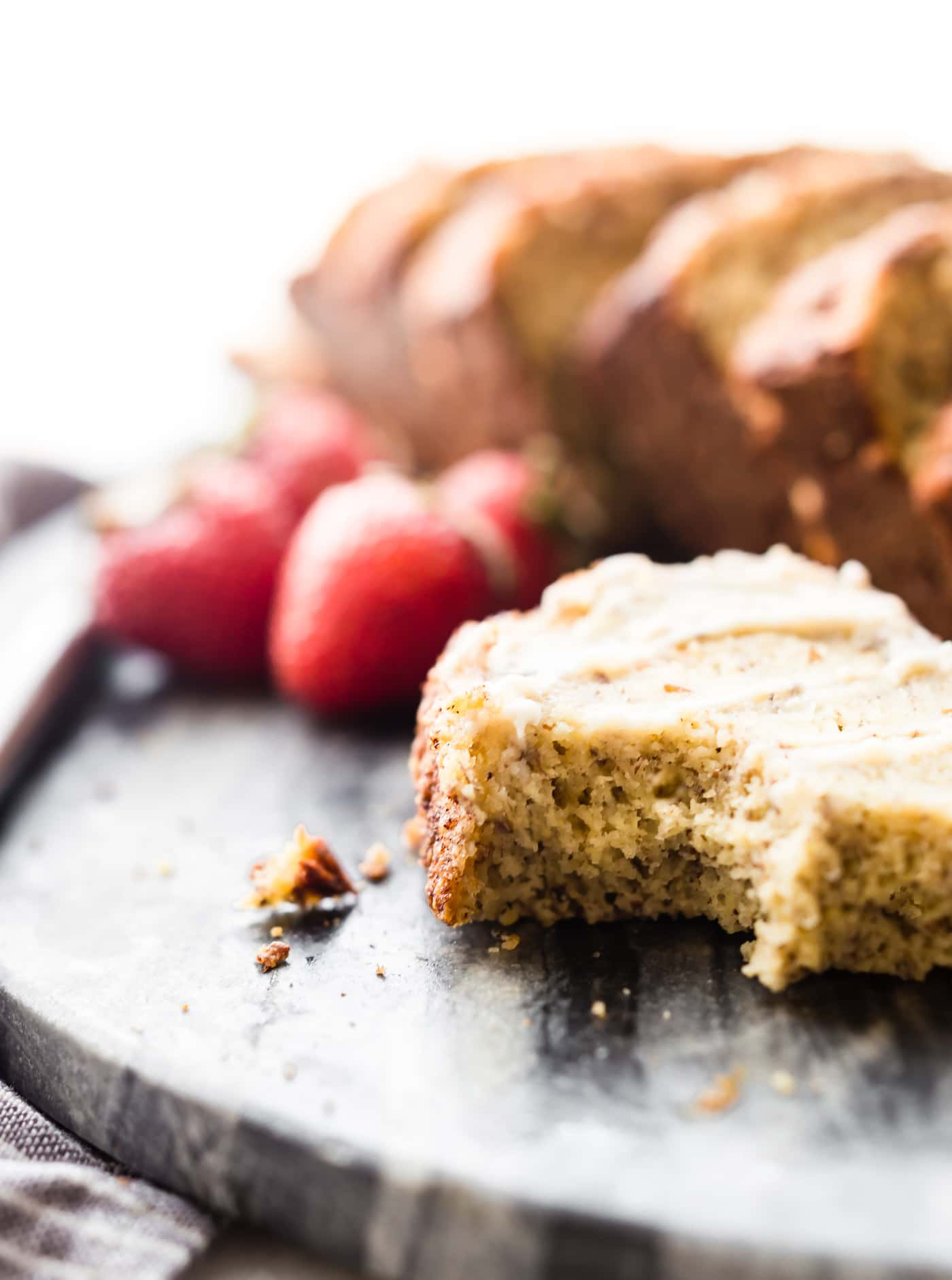 This simple and delicious cinnamon almond flour bread is a versatile paleo bread recipe you're whole family will love! Made with few ingredients; almond flour, flax seed, cinnamon, and eggs to name a few. A nourishing wholesome bread for breakfast or snacking.