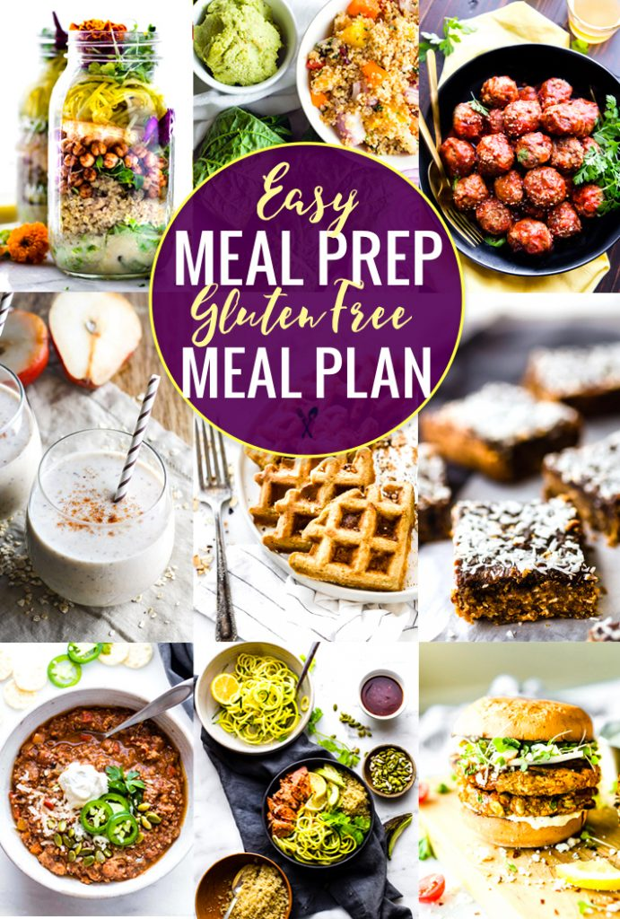 Easy Meal Prep Recipes For A Gluten Free Meal Plan Cotter Crunch