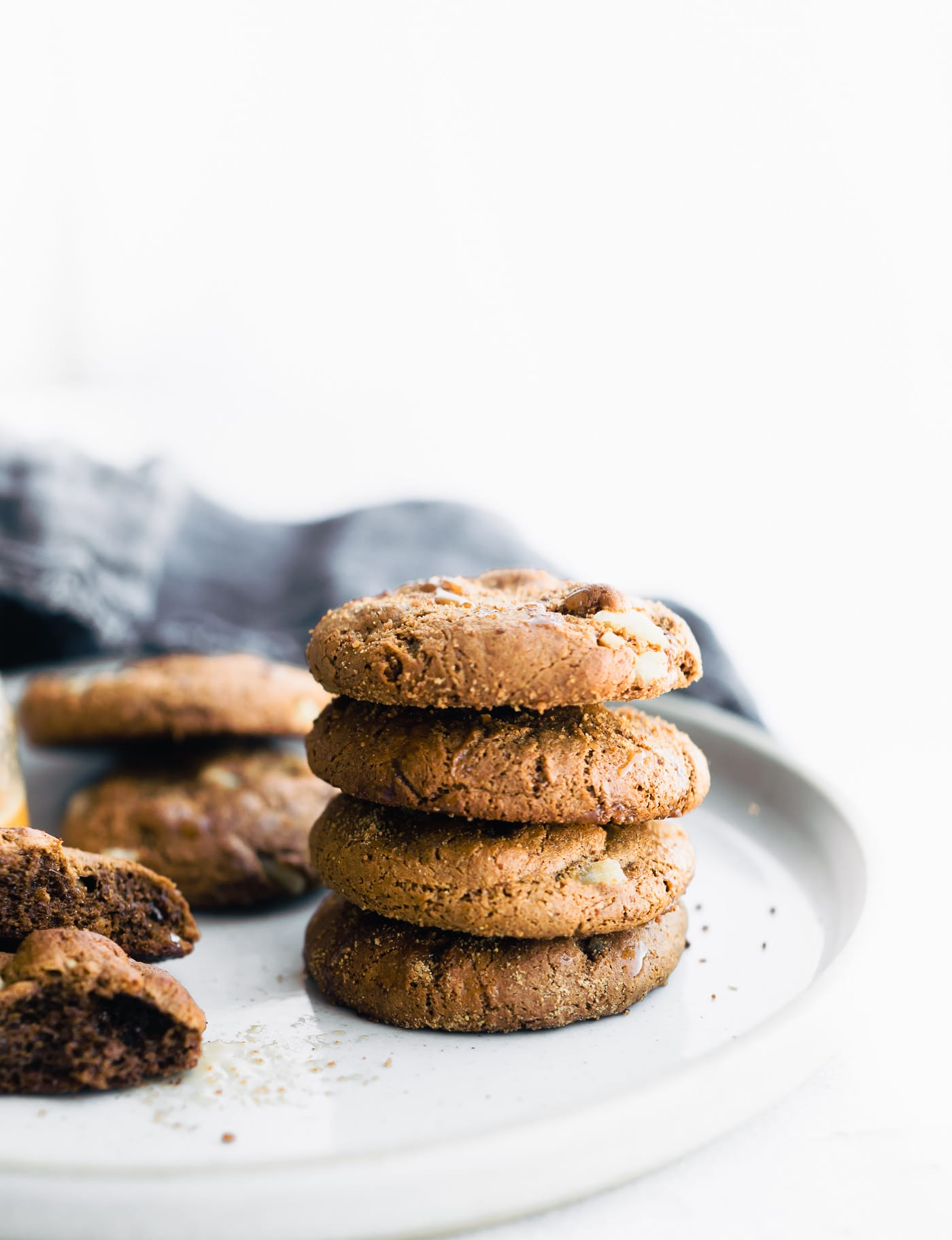 Flourless Chewy Ginger Molasses Cookies | Cotter Crunch