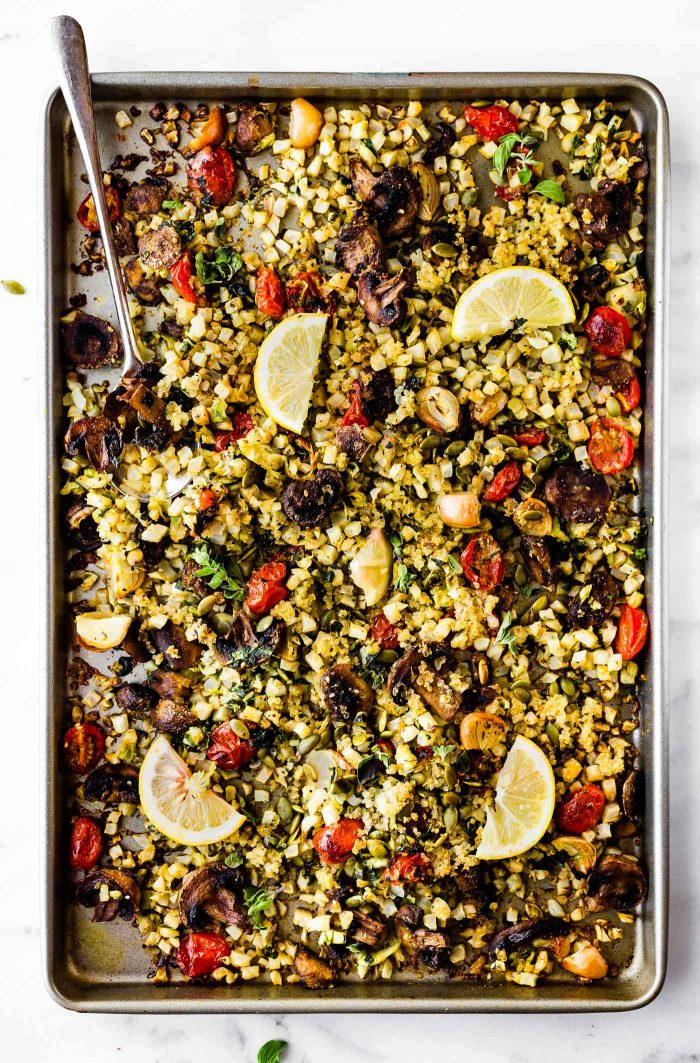 Dukkah Roasted vegetables