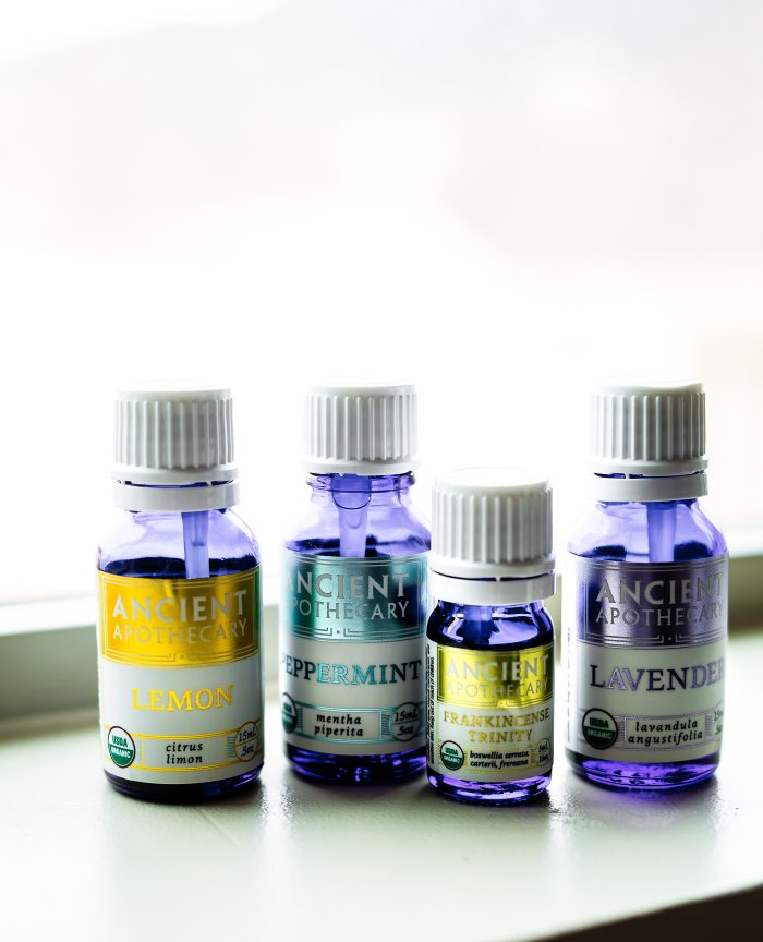 Essential oils starter kit - Healthy gift ideas