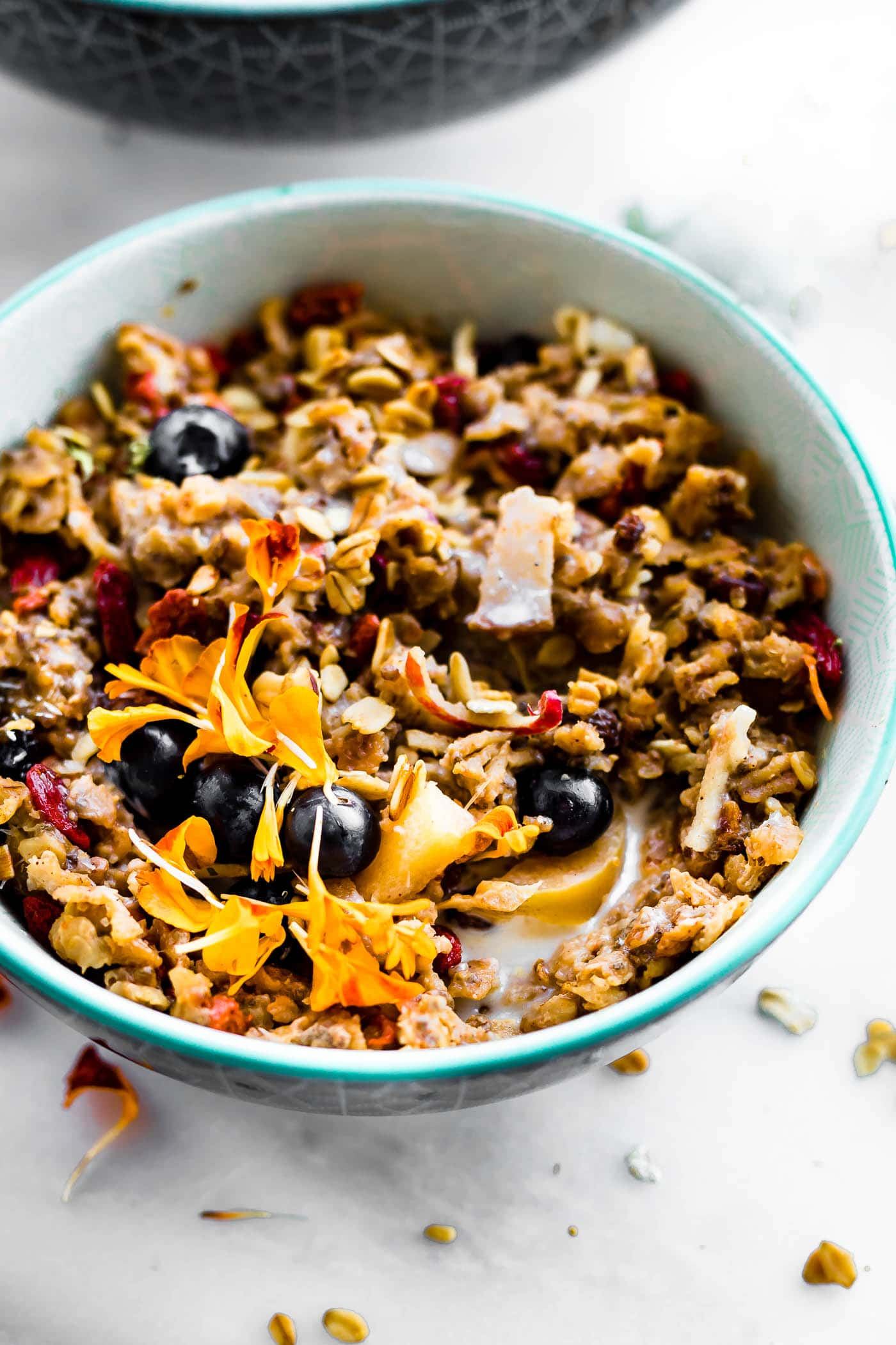 instant pot oatmeal (superfood breakfast bowl) - Gluten free