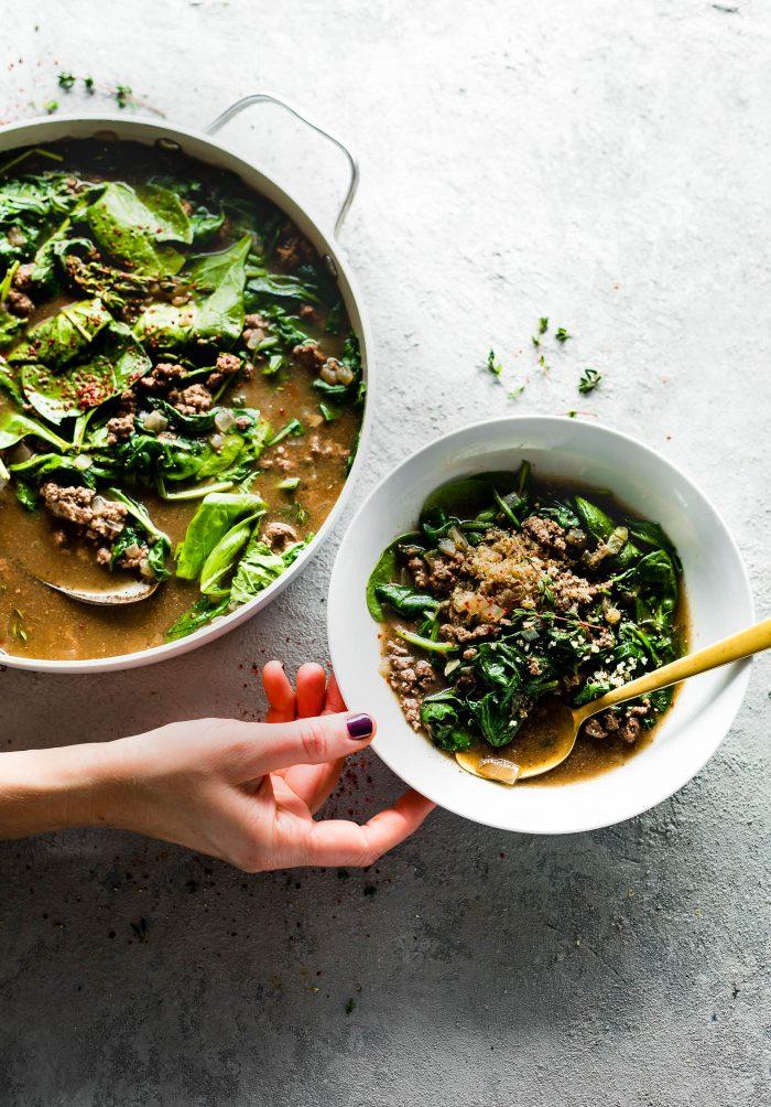 nourishment. Beef stew