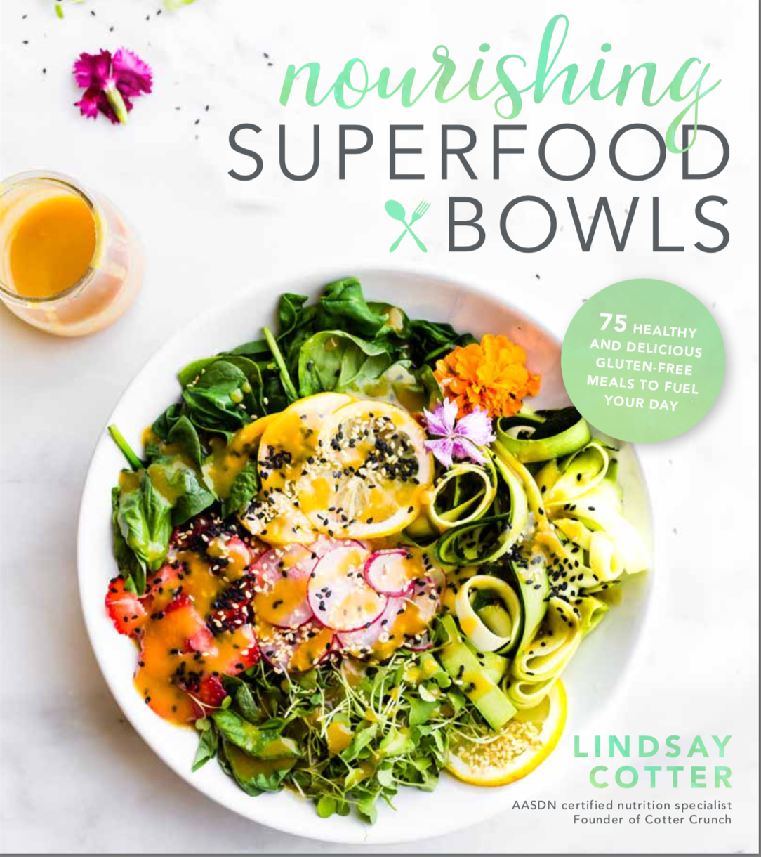 Nourishing Superfood Bowls - pre orders for cookbook on amazon