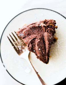 Vegan White Cake with Frosting {Paleo Friendly}