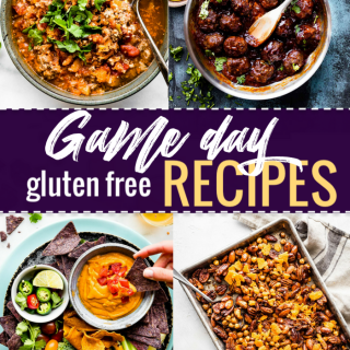 The Super Bowl is tomorrow, so I am sharing last minute easy game day recipes for you to make. These are easy prep recipes for appetizers and snacks, and they're healthy game day snacks , too!