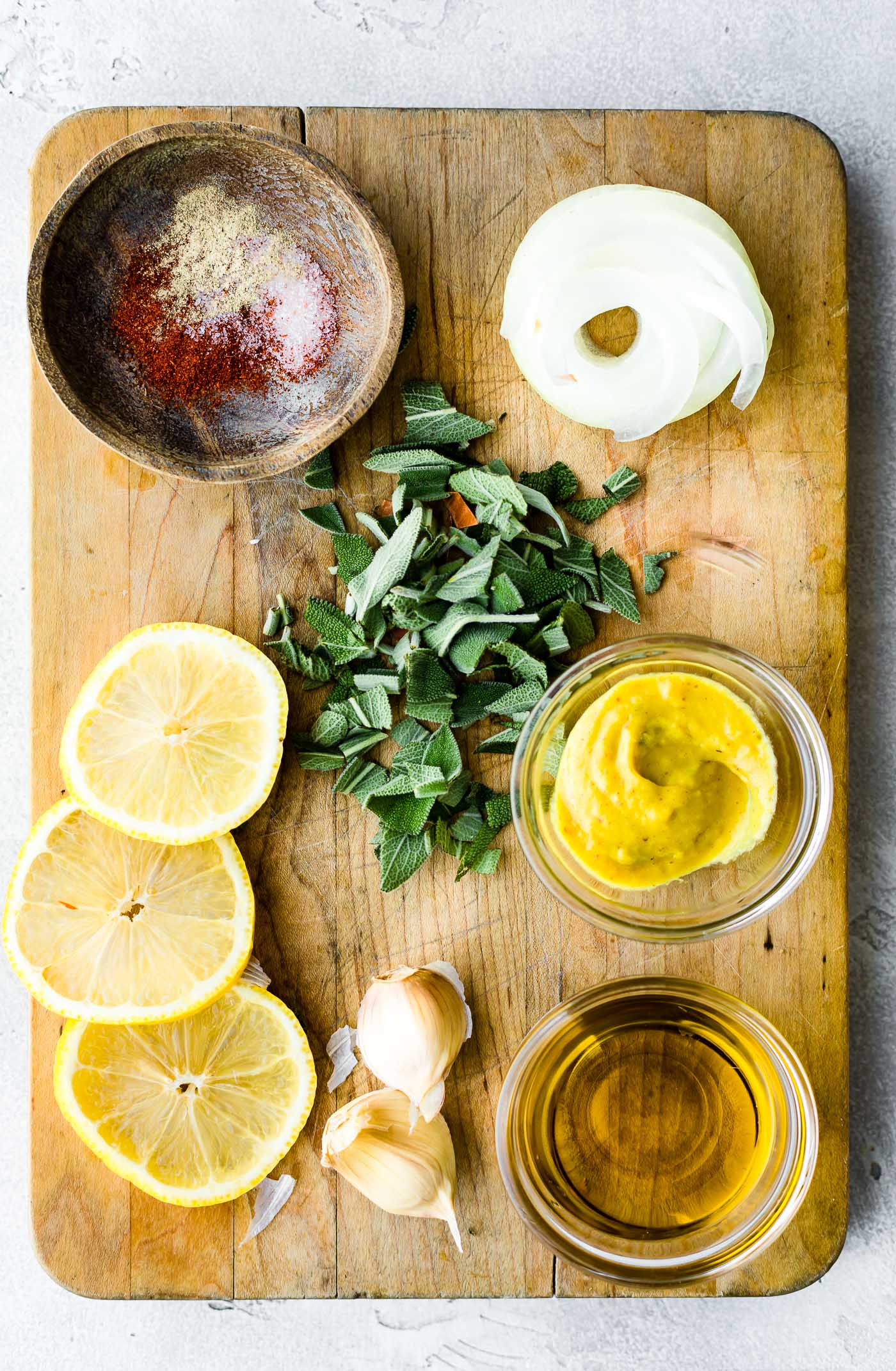 lemon herb sauce ingredients