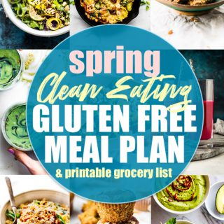 Clean eating gluten free meal plan round up