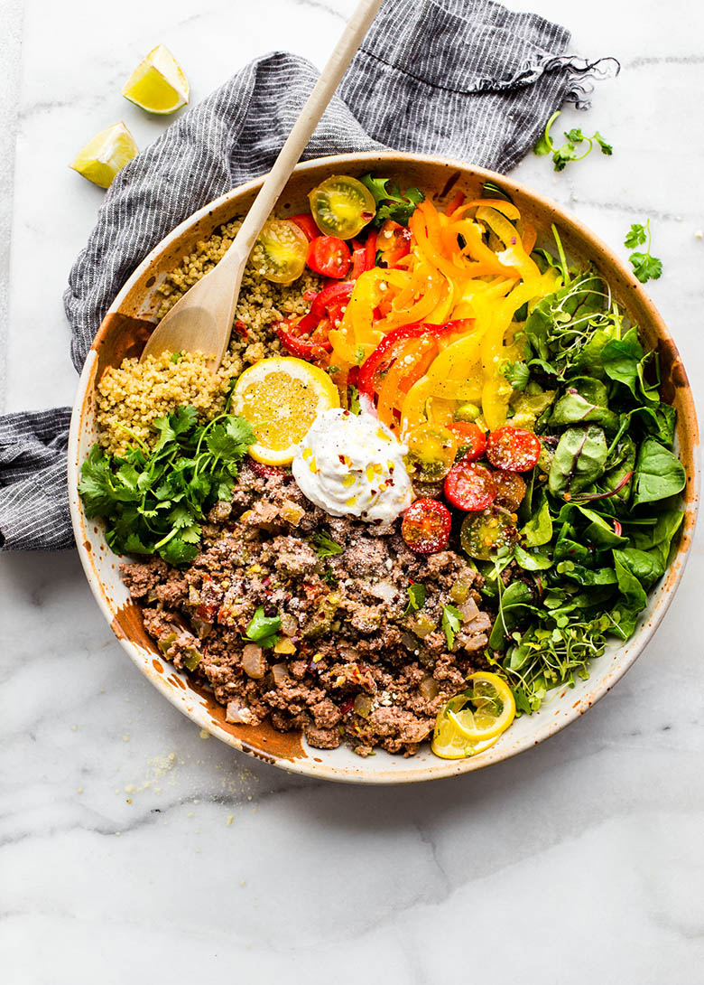 Deconstructed Stuffed Bell Pepper Bowl