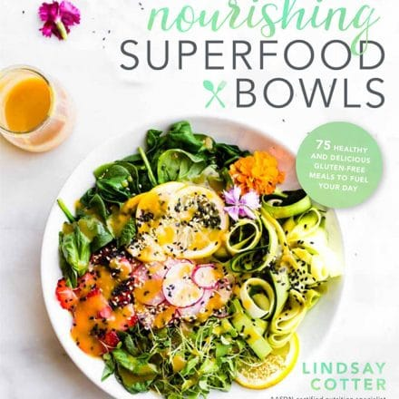 Nourishing Superfood Bowls Cookbook cover