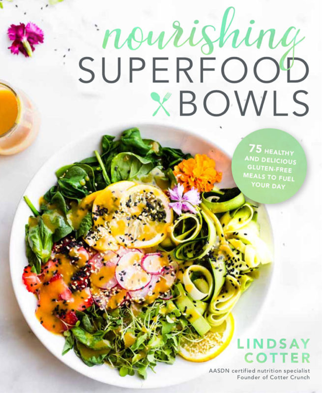 Cover of Nourishing Superfood Bowls Cookbook