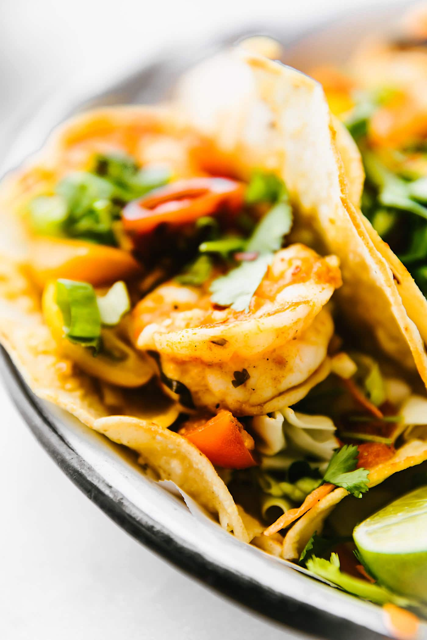 CROCK POT FIRE ROASTED TOMATO SHRIMP TACOS! The easiest tastiest way to make tacos! Plus this recipe makes for the perfect healthy dinner for busy weeknights Paleo option. #paleo option #crockpot