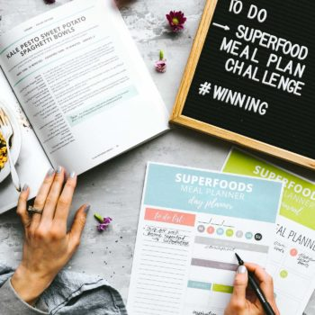 superfood meal plan challenge - how tow track