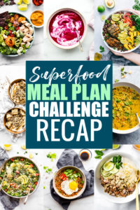 Superfoods Meal Plan Challenge Recap and Results