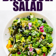 Detox Broccoli Salad! OUR FAVORITE MAYO FREE BROCCOLI SALAD