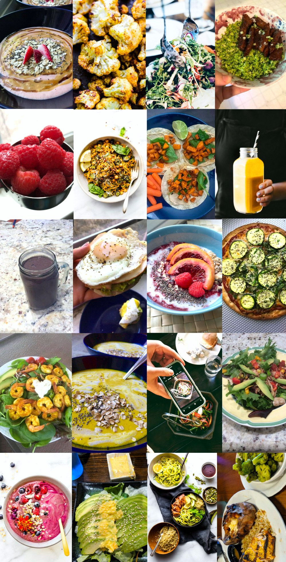 Superfoods Meal Plan Challenge - recap meals #mealplan #challenge #superfoods #glutenfree