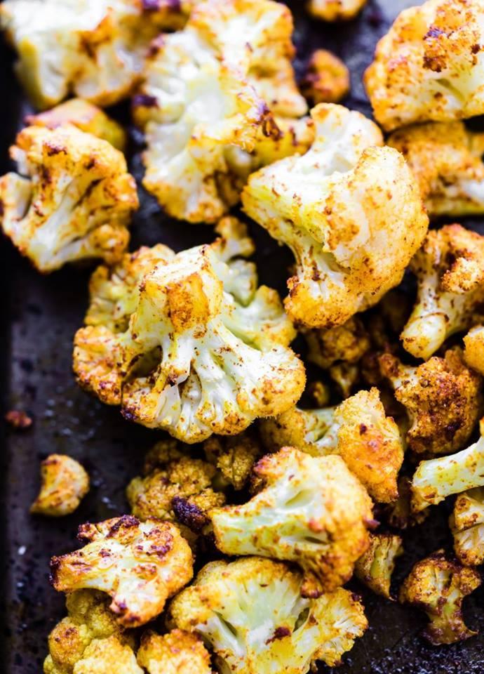 turmeric popcorn cauliflower