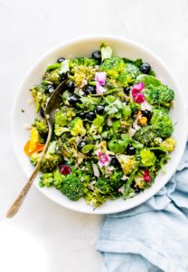 Detox Broccoli Salad {No Mayo}
