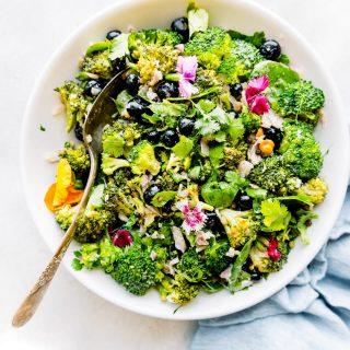detox broccoli salad without mayo