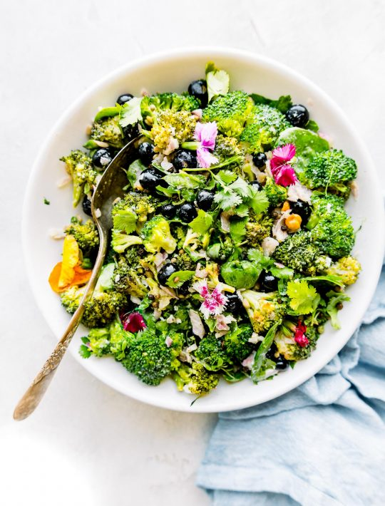 detox broccoli salad without mayo