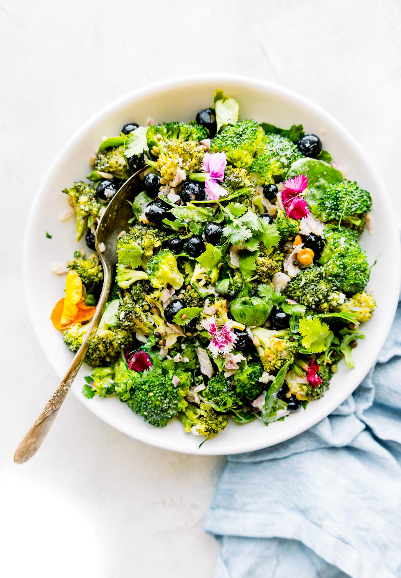 detoxifying broccoli salad recipe photo