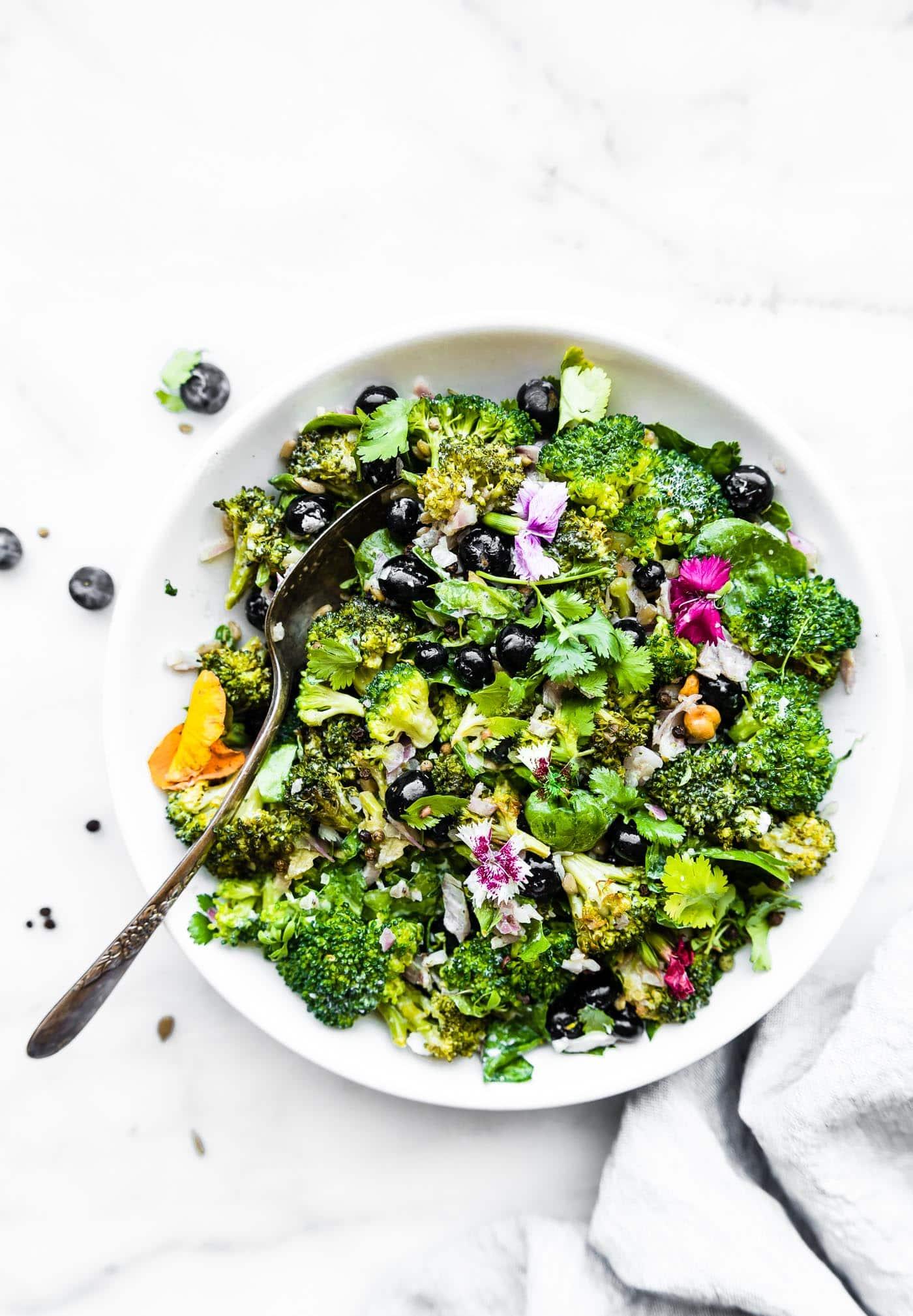 Broccoli Salad Recipe Without Mayo