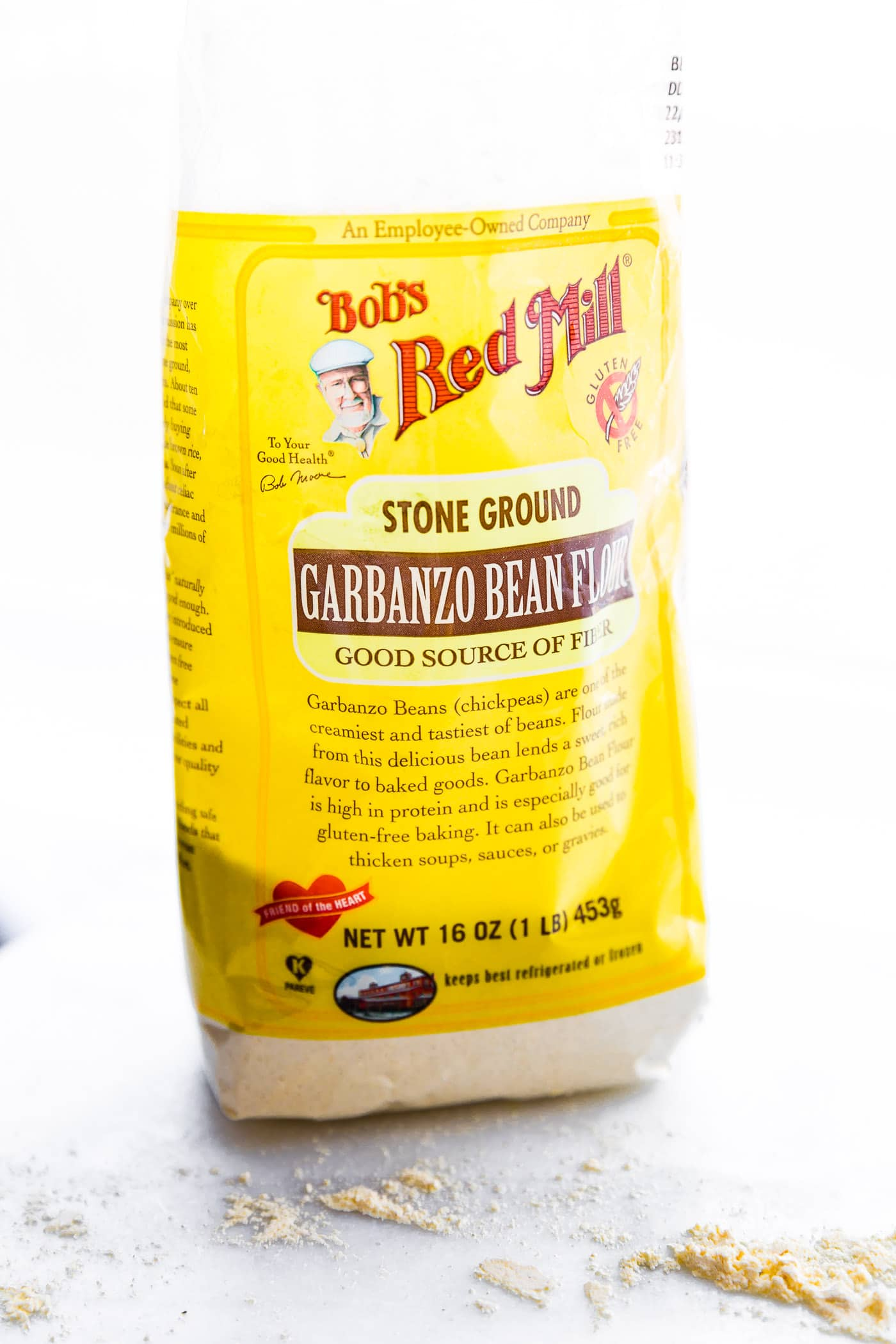 bag of Bob's Red Mill garbanzo bean flour