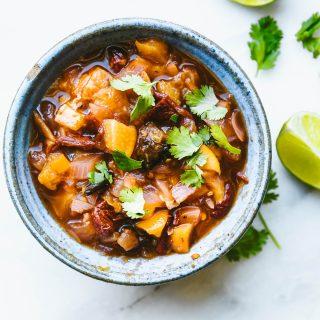 chipotle peach relish salsa_