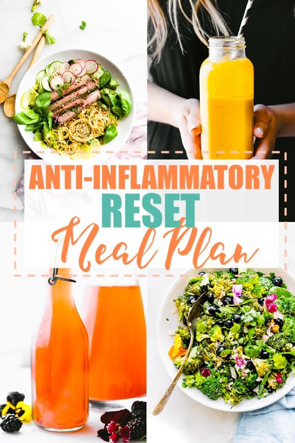 Anti-Inflammatory Diet Meal Plan - Intro / RESET