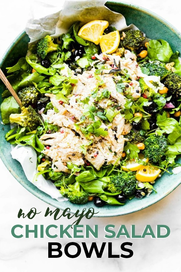 Mayo Free Chicken Salad pin