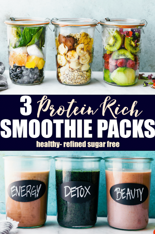 smoothie packs recipes