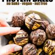 protein balls - chocolate