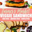 2 farmers market ultimate veggie sandwich - canyon bakehouse