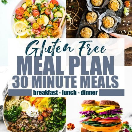 Iron Rich Healthy Gluten Free Meal Plan Ideas {15% DRI or more}