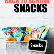 These allergy friendly after school snacks are healthy snacks for kids that you'll love, too! All 5 of these after school snacks are nut free, egg free, gluten free, and #vegan. @enjoylifefoods #backtoschool #snacks #foodallergies #glutenfree