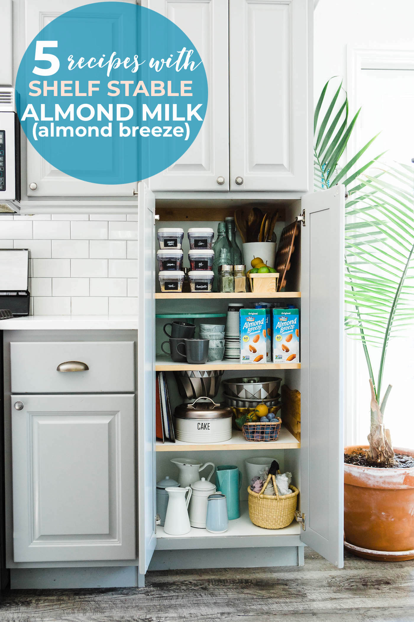 Shelf Stable Almond Breeze #almondmilk to save the day! Pantry Staple Recipes and quick meal ideas! #almondbreeze #recipes #glutenfree #mealideas #breakfast