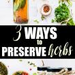 preserve herbs pin