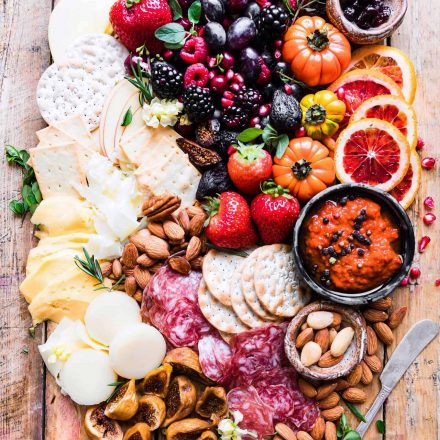 Festive Easy cheese board platter!