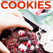 Chocolate chunk cookies with peppermint are gluten free, egg free and vegan Christmas cookies that will wow everyone! These vegan chocolate cookies are so fudgy and delicious, nobody will be able to tell that they're allergy friendly!