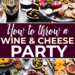 wine and cheese party pin