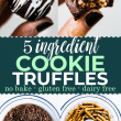 cookie truffles pin collage