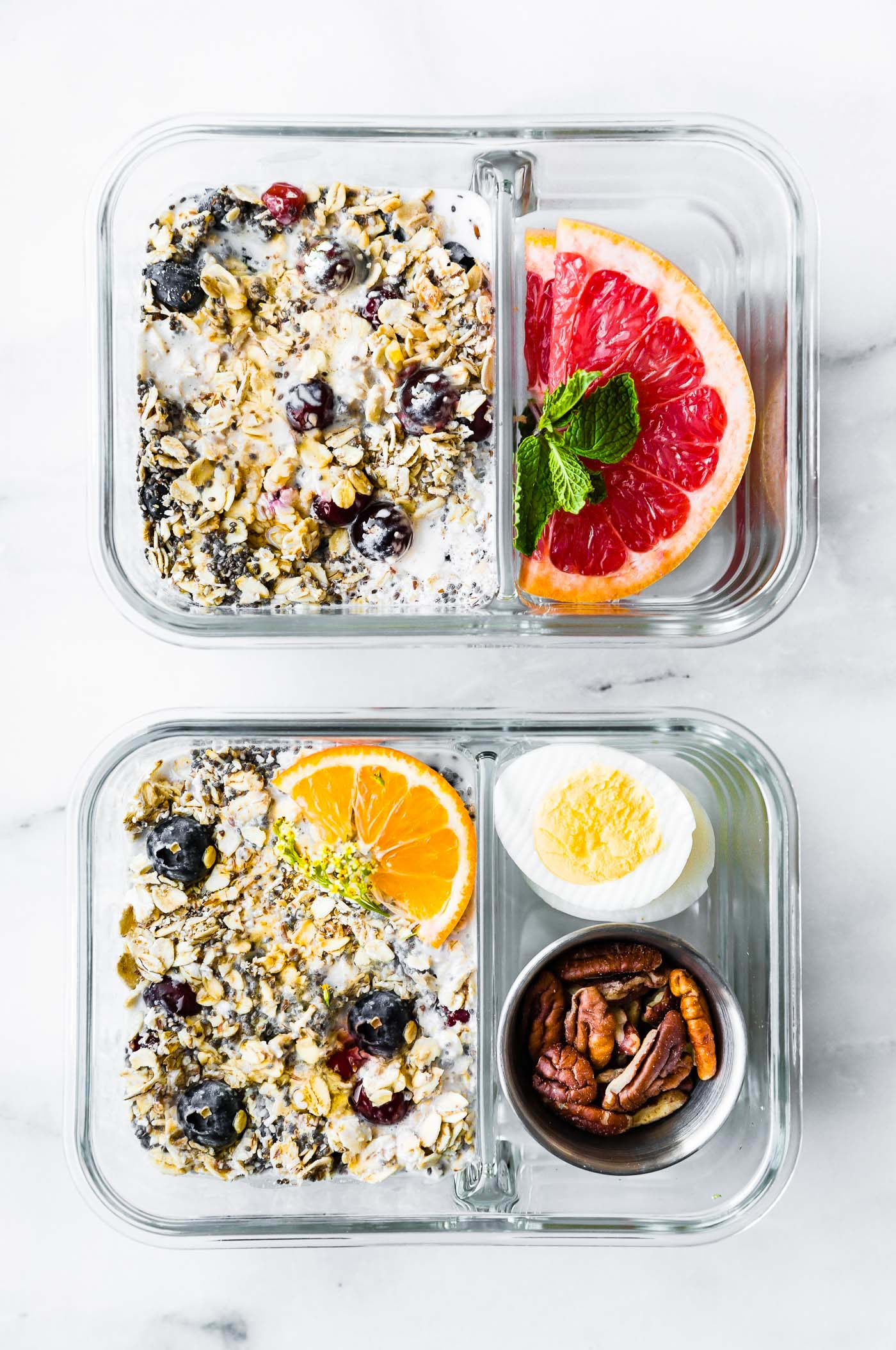 overnight oatmeal containers